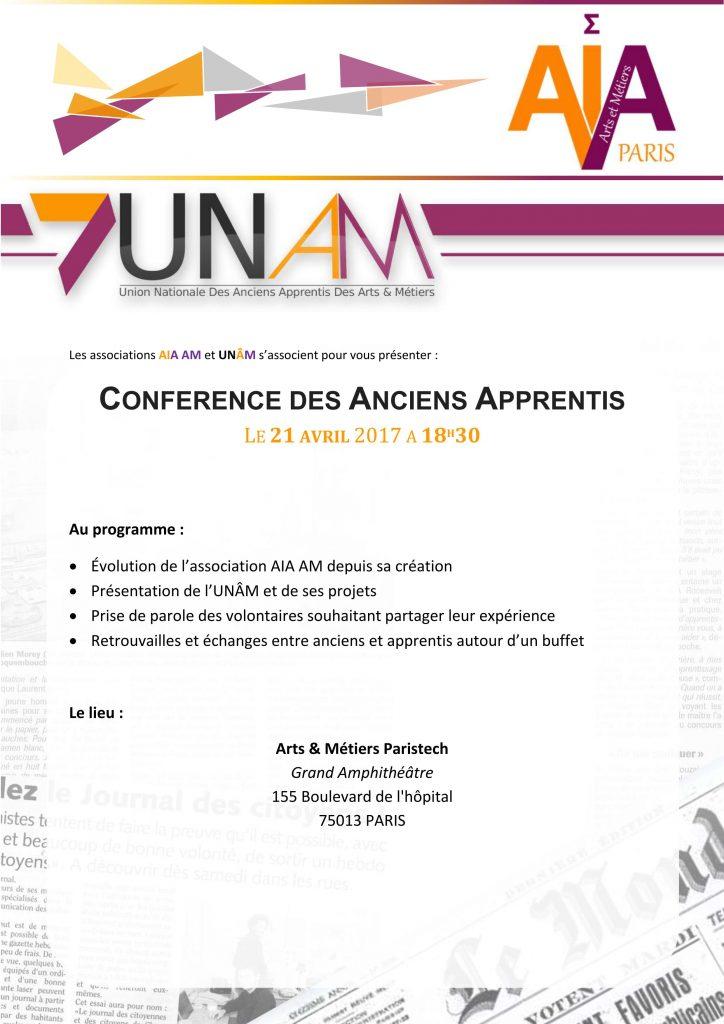 Conférence des Anciens Apprentis de Paris